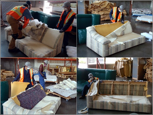 Genial Couch Recycling. Junk Removal Vancouver. Green Coast Rubbish.